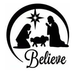 christmas clip art black and white for silhouette - Yahoo Search Results Yahoo Image Search Results Christmas Vinyl, Christmas Projects, Christmas Nativity, Christmas Ornaments, Christmas Pics, Office Christmas, Christmas Patterns, Christmas Decorations, Xmas