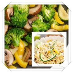 Stir-fried Vegetables with Quinoa