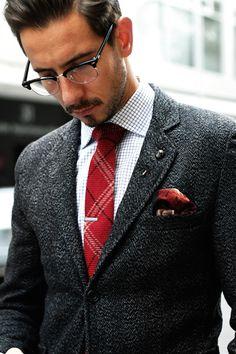 MenStyle1- Men's Style Blog - Men's Eyeglasses Style. FOLLOW for more...