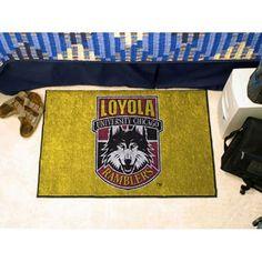 Loyola Illinois Ramblers NCAA Starter Floor Mat (20x30)