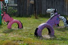 40+ Creative DIY Ideas to Repurpose Old Tire into Animal Shaped Garden Decor | iCreativeIdeas.com Like Us on Facebook ==> https://www.facebook.com/icreativeideas