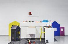 AVA Little loft och skrivbord + 6 lådor – Design from Scandinavia