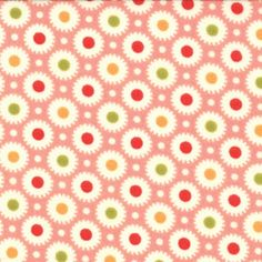 Marmalade - Floral Dot - Strawberry $11.30 yd