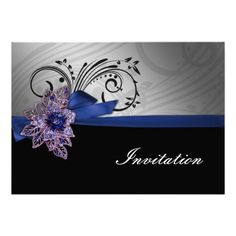 """DealsFaux ribbon and brooch """"navy blue"""" wedding invitesWe have the best promotion for you and if you are interested in the related item or need more information reviews from the x customer who are own of them before please follow the link to see fully reviews"""