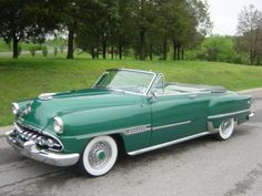 1954 DeSoto Firedome Convertible