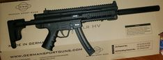 22lr, Mp5, Rifles, Camping Ideas, Firearms, Weapons, Barrel, German, Guns