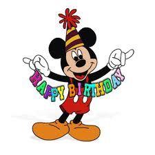 Mickey Mouse Birthday Disney Happy Images Cartoon