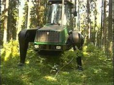 Colheita Mecanizada - Harvester Aranha