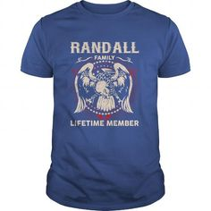 Awesome Tee RANDALL Family, Lifetime Member T shirts