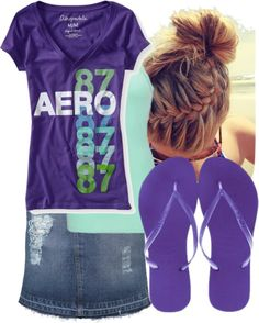"""""""Casual Day"""" by free2bmeforever ❤ liked on Polyvore"""