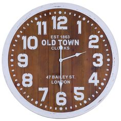 Hobbitholeco Old Town London Wall Clock - IMP6592