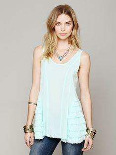 Free People Ruffled Up Cami at Free People Clothing Boutique