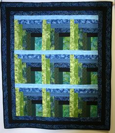 Tick Tack Tow Blue-Green by Janet McLaughlin, Huntington Public Library exhibit