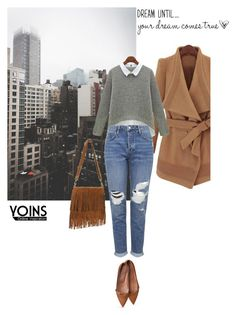 """""""Yoins 8/10"""" by nejra-e ❤ liked on Polyvore featuring mode en Topshop"""
