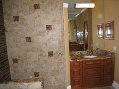 The Home Improvement Source   Bathrooms & Showers - tile in shower