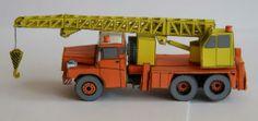 Papermau: Tatra 111 Czeck Crane Truck Paper models In 1/100 ...