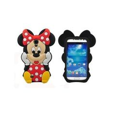 3D Cute Cartoon Mouse Silicone Cover Soft Case for Samsung Galaxy S4 i9500