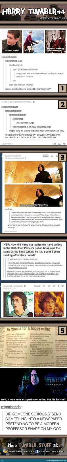 Harry Potter on tumblr: