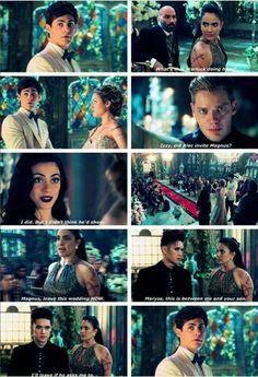 Season 1 Episode 12: Maryse, Magnus, Izzy, Jace, Alec