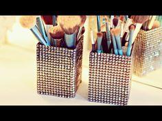 DIY: Como fazer um Porta-Pincéis lindo, fácil e barato, My Crafts and DIY Projects