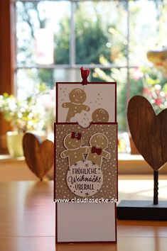 Stampin Up, Double Slider Card, Anleitung, Video, Tutorial, Instructions, Weihnachten, Karte, Technik, Technique