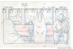 http://freethenerd.tumblr.com/post/75736044443/studio-ghibli-concept-art Spirited Away / Studio Ghibli Concept Art