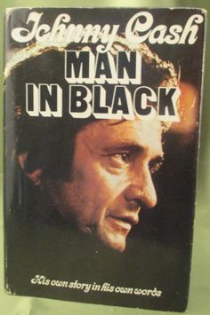 Johnny Cash Man in Black 1st Ed. : Lot 86