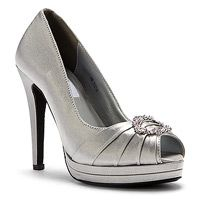 Women's Dyeables Gianna Silver Satin from onlineshoes.com