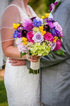 Cedarwood Wedding, Nashville Wedding Venue, Bouquets, Purple inspired