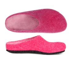 Bright Pink, Wool Felt, Lana, Fashion Jewelry, Slippers, Shoes, Gramm, Stabil, Color