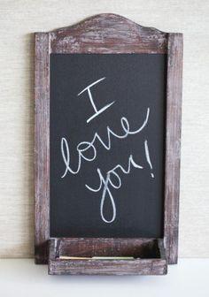 """Check out Suzanne Eichorn's """"Love Note chalkboard shelf"""" decalz @Lockerz http://lockerz.com/d/19593871?ref=Ainhoa_LATVDP"""
