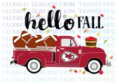 Discover recipes, home ideas, style inspiration and other ideas to try. Chiefs Wallpaper, Football Wallpaper, Kc Cheifs, Chiefs Memes, Kansas City Chiefs Shirts, Sports Signs, Hello Autumn, Truck, Fall