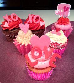 Valentine's day cupcakes !