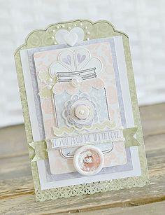Paper Girl Crafts: Maja Design Card and Tutorial