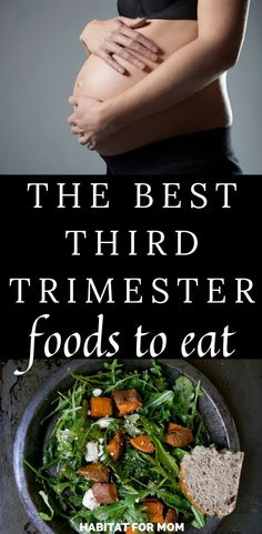 4 Top Super Foods for Your Third Trimester. The best third trimester foods to ea… 4 Top Super Foods for your third trimester. To eat the best foods in the third trimester. Pregnancy tips Third Month Of Pregnancy, Trimesters Of Pregnancy, Pregnancy Months, Pregnancy Tips, Pregnancy Pictures, Good Foods To Eat, Healthy Foods To Eat, Healthy Eating, Healthy Recipes