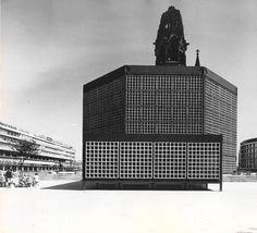 Neue Kaiser-Wilhelm-Gedächtniskirche | 1957-1963 | Berlin, Germany | Egon Eiermann