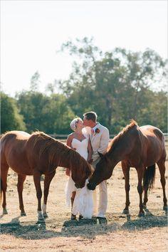 love the lovebirds http://www.weddingchicks.com/2013/10/25/easy-going-wedding/