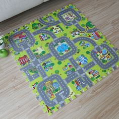 $43.77 - Nice 2017 New! 9pcs Baby EVA foam puzzle play floor mat,Education and interlocking tiles and traffic route ground pad (no edge) - Buy it Now!