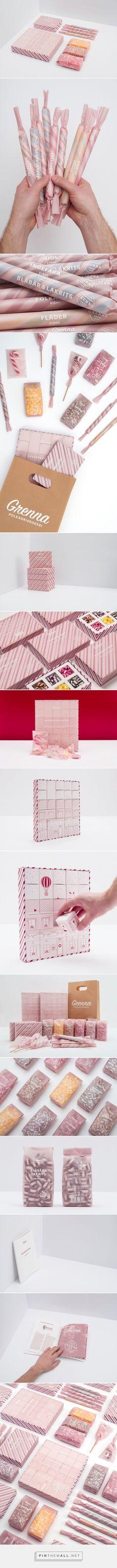 Designed by @brobygrafiska students ❤ Grenna Polkagriskokeri #candy #packaging #design #concept Design team - Johanna Brännström, Viktor Andersson, Pontus Haglund, Gustaf Redmo http://www.packagingoftheworld.com/2017/05/grenna-polkagriskokeri-student-project.html