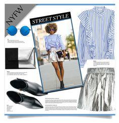 """NYFW - Street Style"" by kiki-bi ❤ liked on Polyvore featuring Kim Kwang, M Missoni, Matthew Williamson, StreetStyle and NYFW"