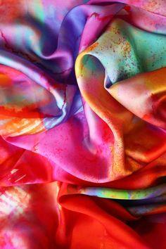Silk Scarf.  Amy Sia.  http://www.amy-sia.com/