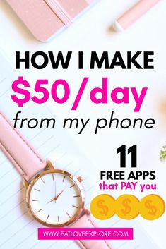 Wondering how to make money online and make extra money fast? This easy side hustle will help you make hundreds of dollars from your phone! Apps that pay you Make money online easy Make Money Fast Online, Earn Money Fast, Make Real Money, Quick Money, Earn Money From Home, Extra Money, Extra Cash, Make Side Money, Free Money