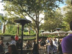 Saint Ann Patio, A Great Spot For Wine Sipping On A #Dallas #patio