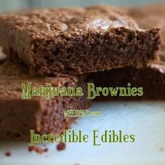Make marijuana brownies recipe that will have your friends coming back for more. WeedPad offers this incredible edibles pot brownies recipe free. Weed Recipes, Marijuana Recipes, Cooking Recipes, Recipies, Vegan Recipes, Cannabis Edibles, Incredible Edibles, Brownie Recipes, Cake Recipes