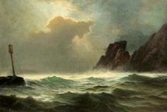 Casco Bay, by Edward Moran