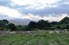 Colombia - Paisaje en las estribaciones de la Sierra, La Guajira.