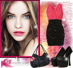 """""""Barbara Palvin for Indressme"""" by osirisvany ❤ liked on Polyvore"""