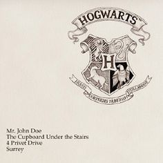Harry Potter- Hogwarts Envelope Door Tag Template: Just need to include information on provided template-SUPER EASY