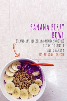 If you couldn't tell from my meaningful Love Letter to Acai Bowls,.. I have this problem where I can't stop eating fruit and granola filled things in bowl form. I ACTUALLY CAN'T STOP. Please don't send help, I'm happier here.