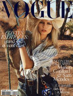 Vogue Paris Avril 2010 -     Natasha Poly by Inez van Lamsweerde & Vinoodh Matadin